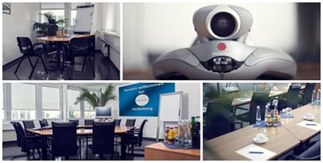 Collage Videokonferenz
